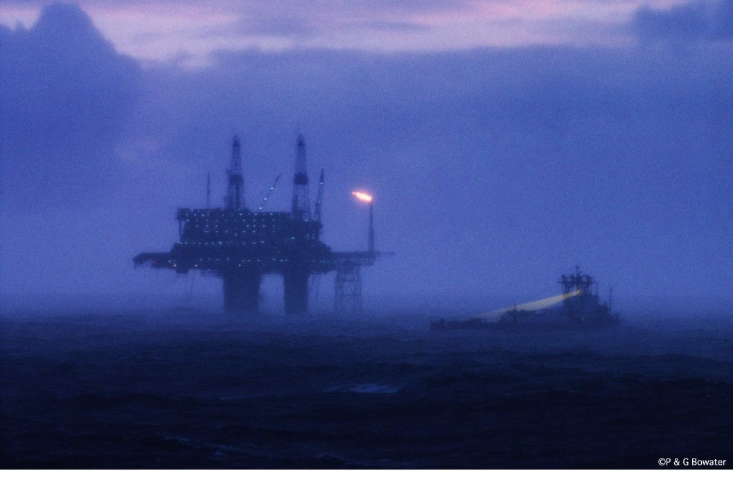 Oil Platform North Sea